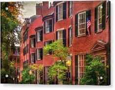 Louisburg Square - Beacon Hill Boston Acrylic Print