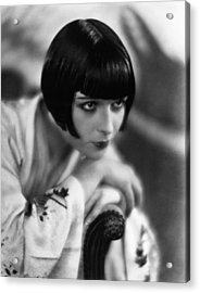 Louise Brooks, Ca. 1929 Acrylic Print by Everett