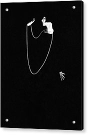 Louise Brooks, Photo By Ruth Harriet Acrylic Print by Everett