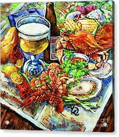 Louisiana 4 Seasons Acrylic Print by Dianne Parks