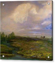 Louisiana Countryside Acrylic Print