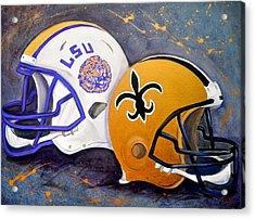 Louisiana Fan Acrylic Print