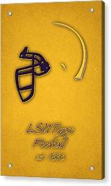 Louisiana State Tigers Helmet 2 Acrylic Print