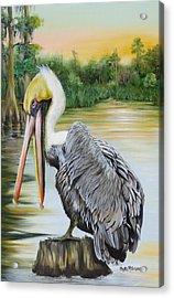Louisiana Sunrise Acrylic Print