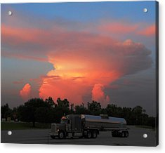 Acrylic Print featuring the photograph Louisiana Sunset by Maggy Marsh