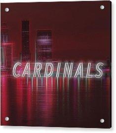 #louisville #cardinals Acrylic Print