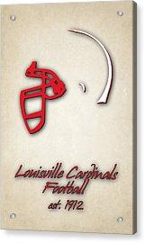 Louisville Cardinals Acrylic Print