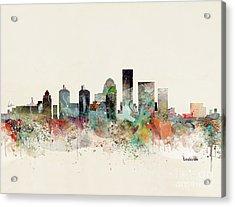 Louisville Kentucky Skyline Acrylic Print