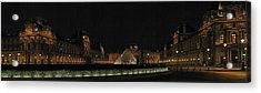 Louvre Acrylic Print by Gary Lobdell