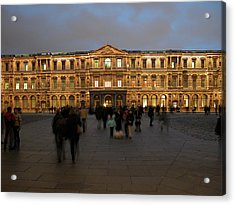 Acrylic Print featuring the photograph Louvre Palace, Cour Carree by Mark Czerniec