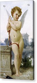 Love, 1891 Acrylic Print by William-Adolphe Bouguereau