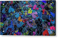 Love 4 Series 1 Acrylic Print by Kenneth James