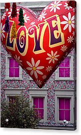 Love Above Acrylic Print by Jez C Self