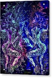Love And Agony Acrylic Print