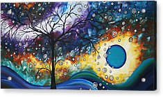 Love And Laughter By Madart Acrylic Print by Megan Duncanson