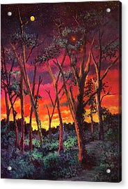 Love And The Evening Star Acrylic Print