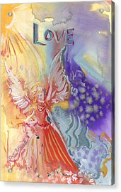 Love Angel Acrylic Print