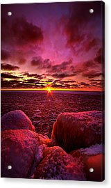 Love At First Light Acrylic Print by Phil Koch