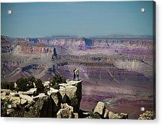 Love At The Grand Canyon Acrylic Print