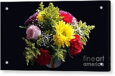 Love Bouquet Acrylic Print by Becky Lupe