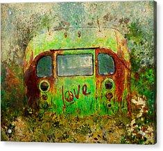Love Bus Acrylic Print