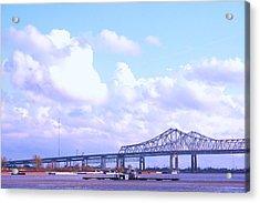 Love Can Build A Bridge Acrylic Print by Gracey Tran