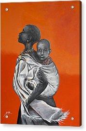 Love Carries Acrylic Print