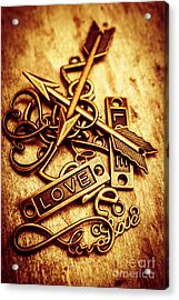 Love Charms In Romantic Signs And Symbols Acrylic Print by Jorgo Photography - Wall Art Gallery