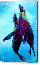 Pure Love Acrylic Print by Debbie Chamberlin