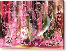 Love Floats Acrylic Print by Joy Gerow