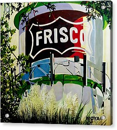Love Frisco Acrylic Print by Diana Moya