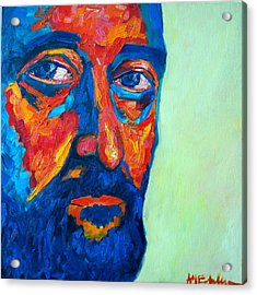 Acrylic Print featuring the painting Love Him So Much by Ana Maria Edulescu