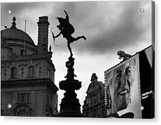 Love In The City Acrylic Print by Jez C Self