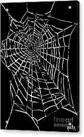 Love Is A Tangled Web Acrylic Print by Turtle Caps