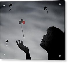 Love Is In The Air Acrylic Print by Edwin Alverio