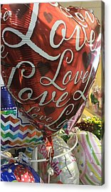 Love Acrylic Print by James E Swarthout