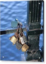 Love Lock Acrylic Print