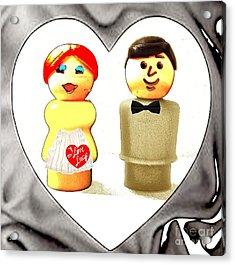 Love Lucy Acrylic Print