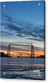 Love Mornings Acrylic Print by Jamie Rabold