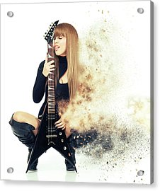 Love Music Acrylic Print by Nichola Denny