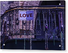 Love New Orleans Acrylic Print by Garry Gay