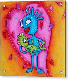 Love Of A Mother Acrylic Print