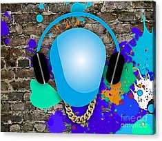 Love Of Music Acrylic Print by Marvin Blaine