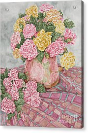 Love Of Roses Acrylic Print