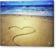 Love Of The Ocean Acrylic Print