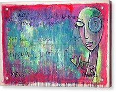 Love Painting Acrylic Print
