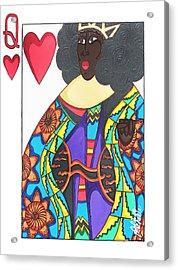 Love Queen Acrylic Print