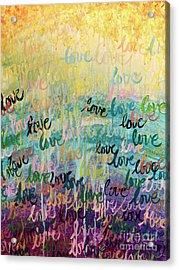 Love Reigns Acrylic Print