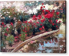 Acrylic Print featuring the painting Love by Rosario Piazza