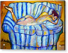Love Seat Acrylic Print by Noredin Morgan